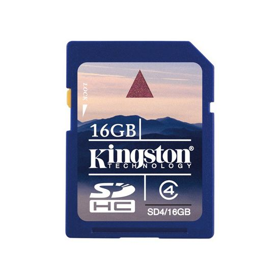Kingston SDHC 16GB Class 4 paměťová karta (Secure Digital)