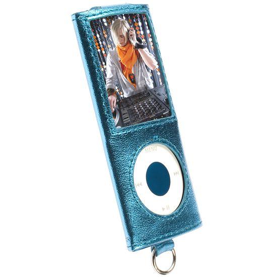 Krusell pouzdro Encore - Apple iPod Nano 4G - modrá