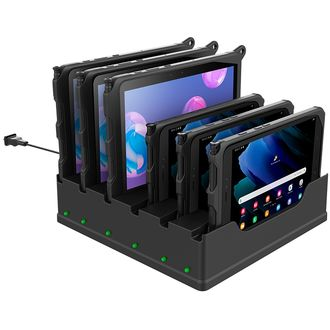 RAM Mounts 6-Port Dock for Tab Active3, Tab Active2 and Tab Active Pro