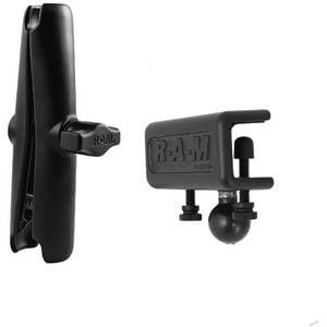 """RAM Mounts sestava pro držák s 1"""" čepem s dlouhým ramenem a s úchytem na desku o tloušťce do 16 mm, RAM-B-127-XCU"""
