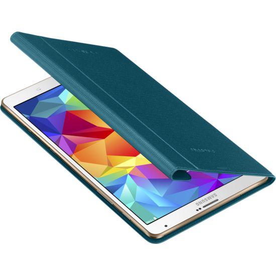 Samsung polohovací pouzdro EF-BT700BL pro Galaxy Tab S 8.4, modrá