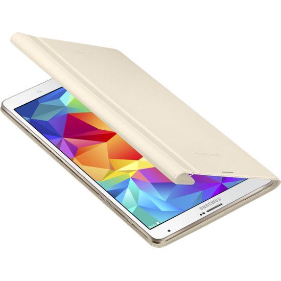 Samsung polohovací pouzdro EF-BT700BU pro Galaxy Tab S 8.4, slonová kost