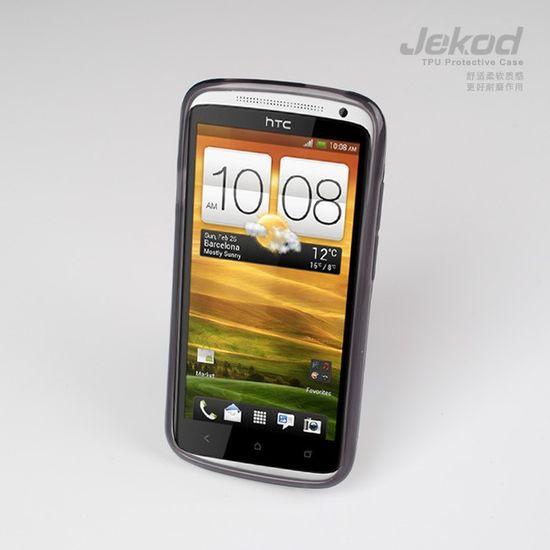 Jekod TPU silikonový kryt pro HTC ONE M7, černá