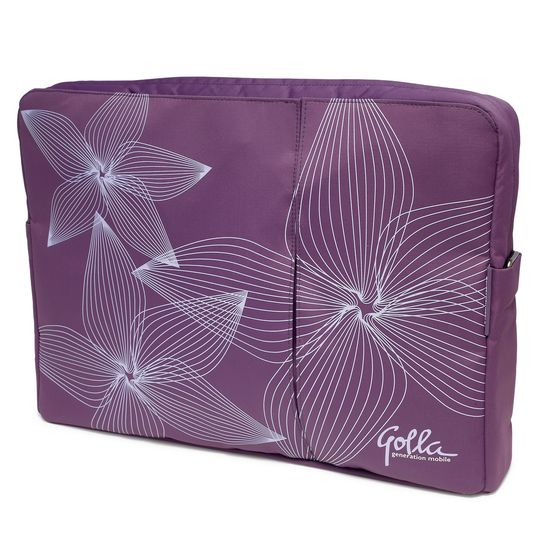 "Golla laptop bag slim 16"" jade g806 purple 2010"