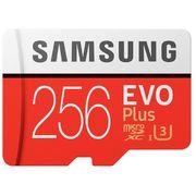 Samsung EVO Plus microSDXC 256GB UHS-I zápis 95MB/s + SD adaptér