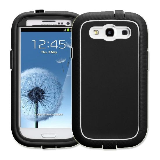 Case Mate Phantom protection case pro Samsung Galaxy S III (i9300) Black/White
