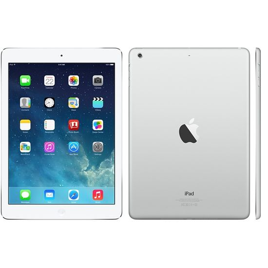 Apple iPad Air, 32GB Wi-Fi Cellular, stříbrná