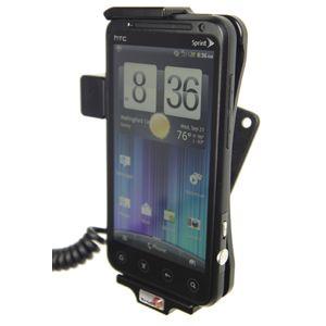 Brodit držák do auta na HTC EVO 3D bez pouzdra, s nabíjením z cig. zapalovače