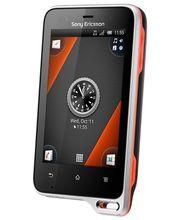 Sony Ericsson Xperia active - černá s oranžovou