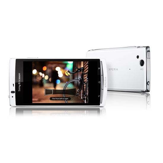 Sony Ericsson Xperia arc S bílý + fólie na displej ScreenShield