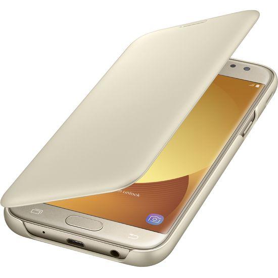 Samsung flipové pouzdro pro Galaxy J5 (2017), zlaté