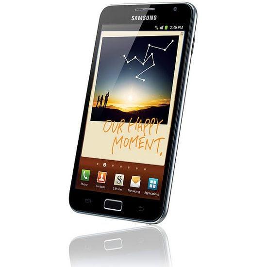 Samsung Galaxy Note černý + držák bez nabíjení Brodit