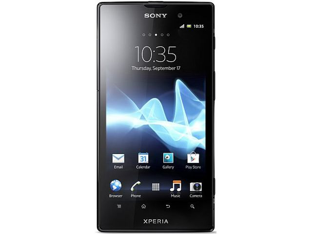 obsah balení Sony Xperia Ion + Sony MN2 SmartWatch - Android hodinky