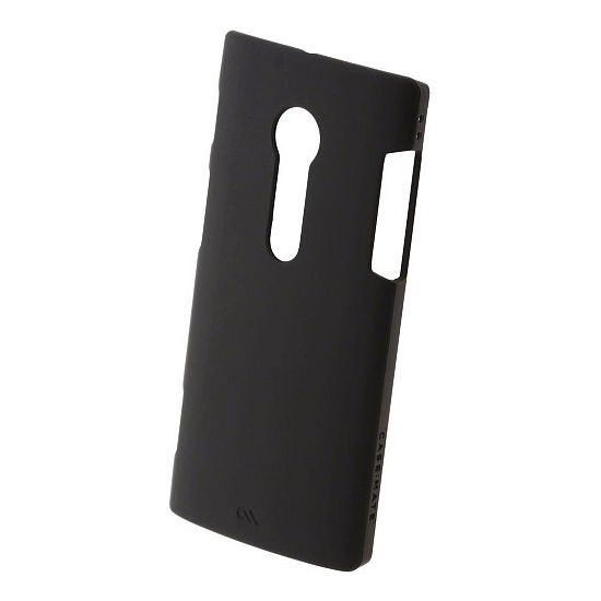 Case Mate Barely There case Black (rubber) pro Sony Xperia Ion
