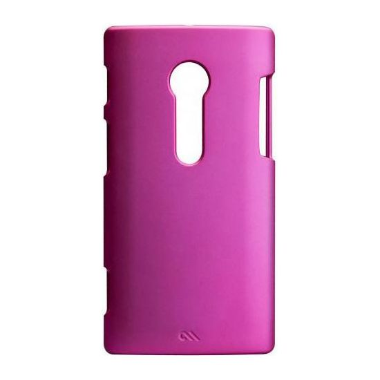 Case Mate Barely There case Pink (rubber) pro Sony Xperia Ion