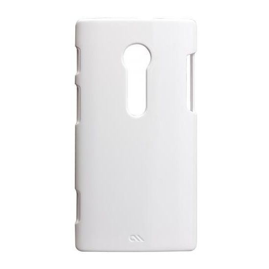 Case Mate Barely There case White (rubber) pro Sony Xperia Ion