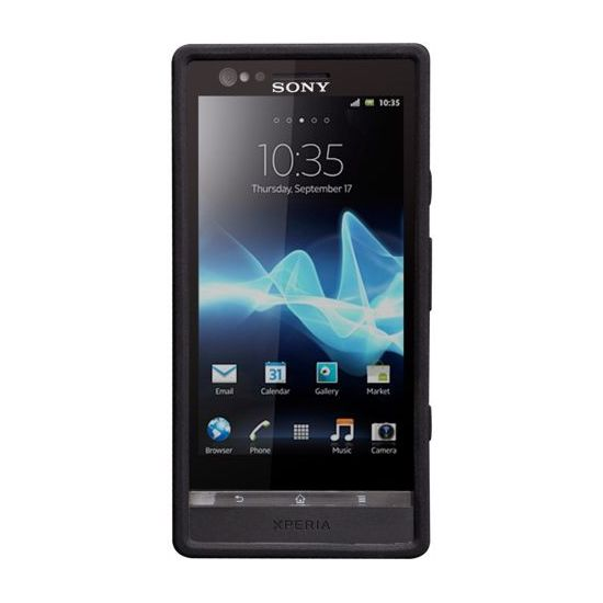 Case Mate Emerge Smooth Case pro Sony Xperia P Black