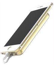 Scosche MagicMount powerbanka 4000 mAh, Lightning, přichycení magnetem, zlatá