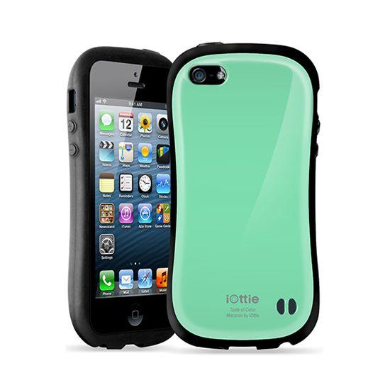 iOttie Macaron - ochranné pouzdro pro iPhone 5 zelené