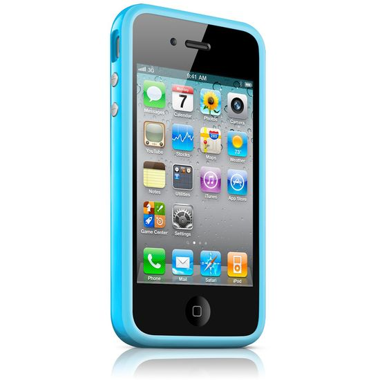 Apple iPhone 4 Bumper - Blue
