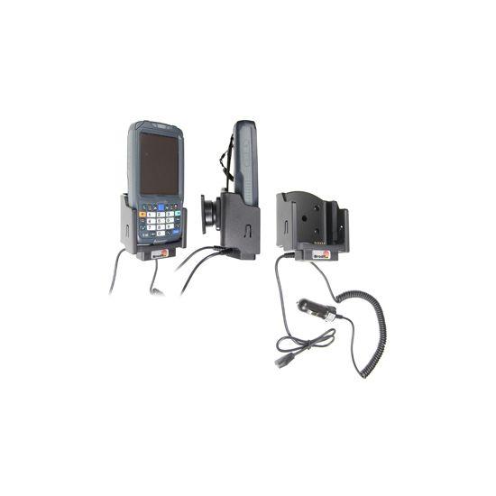 Brodit držák do auta na Intermec CN50 s USB OTG kabelem, s nabíjením z cig. zapalovače