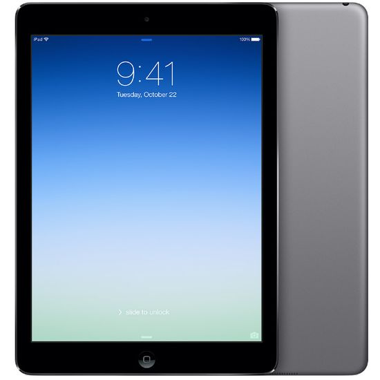 Apple iPad Air, 128GB Wi-Fi, šedá
