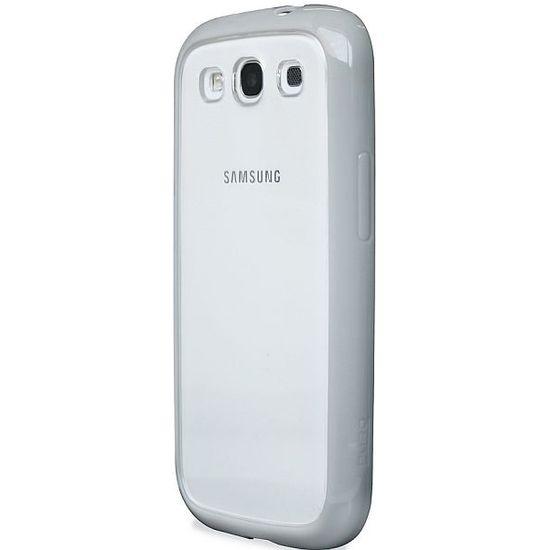 PURO silikonové pouzdro pro Samsung Galaxy S III - šedá