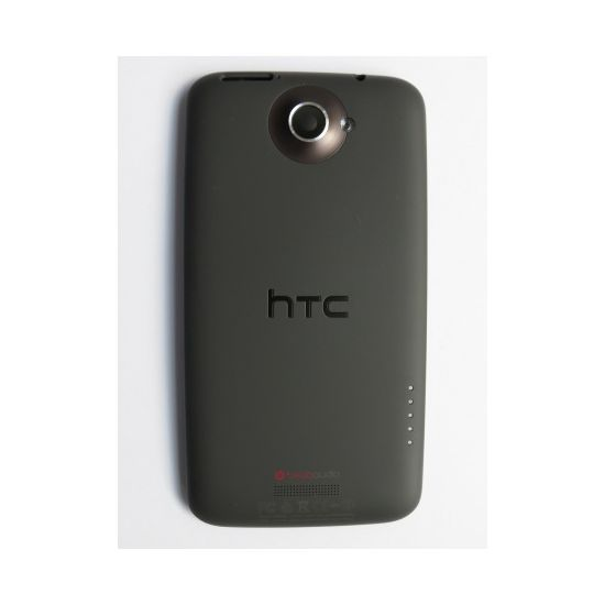Náhradní díl kompletní zadní kryt pro HTC One X, černý