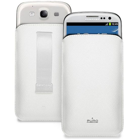 PURO pouzdro Slim Essential pro Samsung Galaxy S III (i9300) - bílé