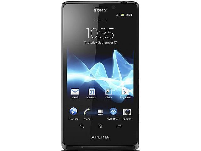 obsah balení Sony Xperia T + Sony Android hodinky SmartWatch