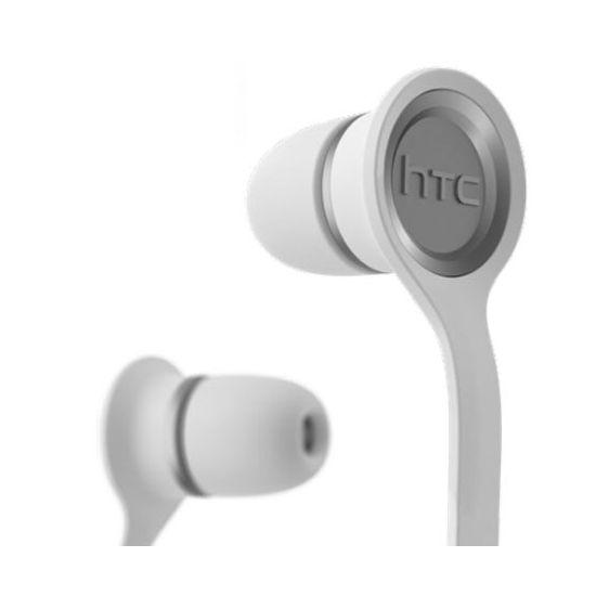 HTC Headset Stereo bílý plochý kabel E190, rozbaleno, plná záruka