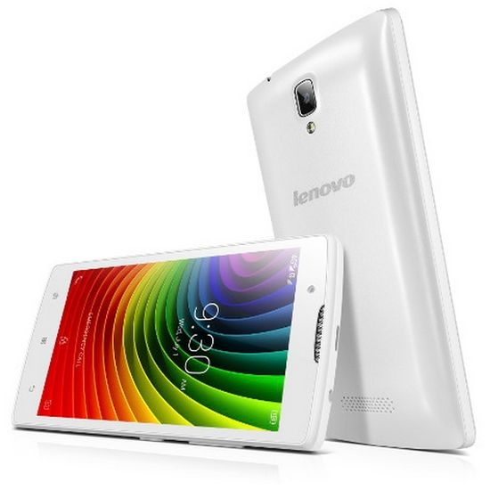 Lenovo A2010 Single SIM, bílá