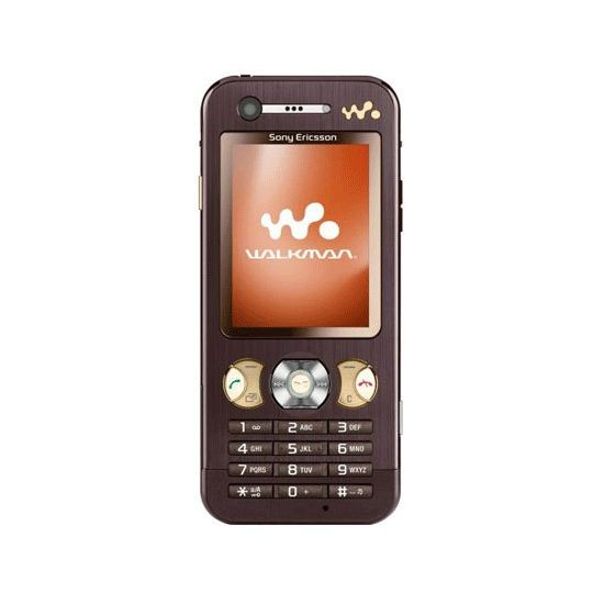Sony Ericsson W890i Mocha Brown