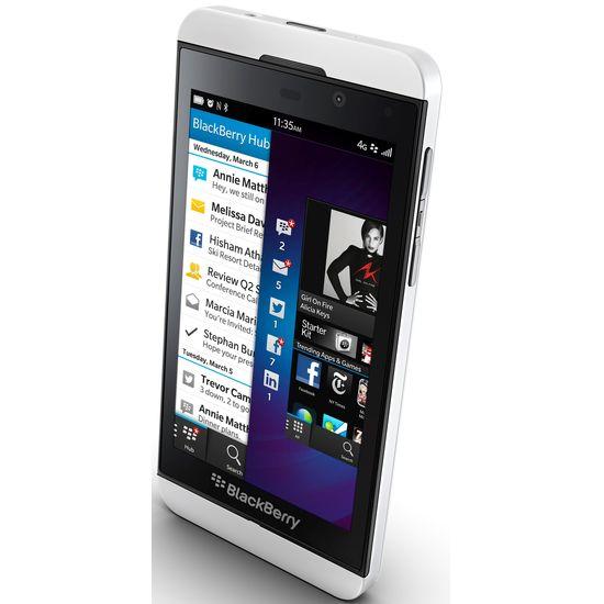 BlackBerry Z10 - bílá