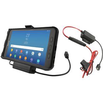 RAM Mounts EZ-Roll'r držák pro Samsung Galaxy Tab Active2 s nabíjením a přenosem dat