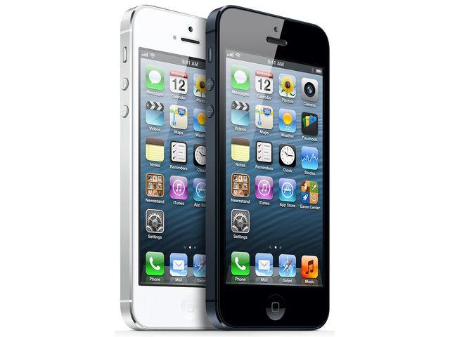 obsah balení iPhone 5 32GB černý + Cookoo watch bílé
