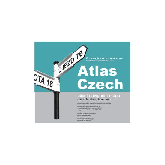 Garmin mapa Atlas Czech 8