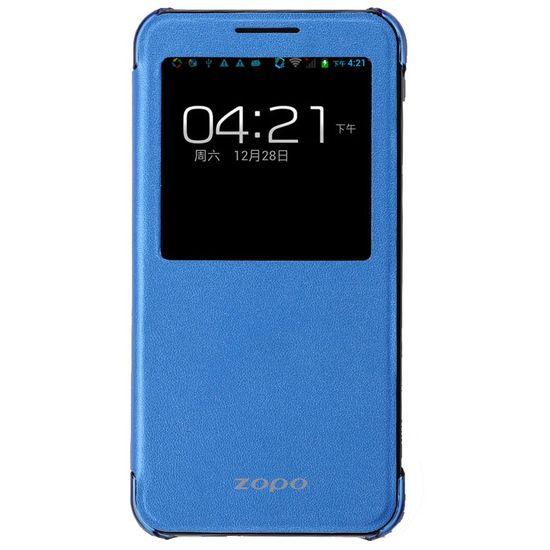 ZOPO flipové pouzdro S-View pro ZP998, modrá