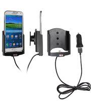 Brodit držák do auta na Samsung Galaxy S5 G900 bez pouzdra, s nabíjením z cig. zapalovače/USB