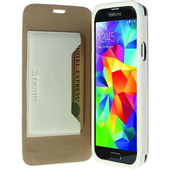 Krusell pouzdro FlipCover Malmö - Samsung Galaxy S5, bílá