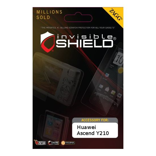 invisibleSHIELD pro Huawei Ascend Y210 - display
