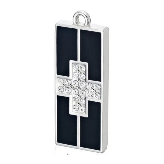 USB Disk My Memoria Cross - USB Flash 4GB s krystaly Swarovski