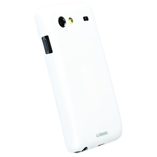 Krusell hard case - ColorCover - Samsung i9070 Galaxy S Advance  (bílá metalíza)