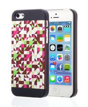 Esperia Evoque Triangles Rose kryt pro iPhone 5/5S