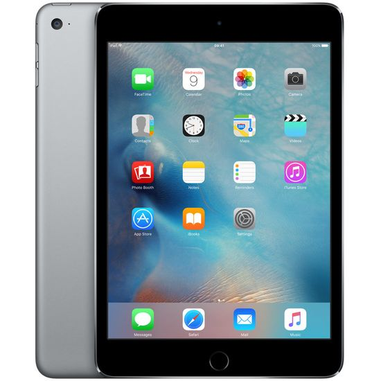 Apple iPad mini 4 Wi-Fi Cellular 16GB šedý