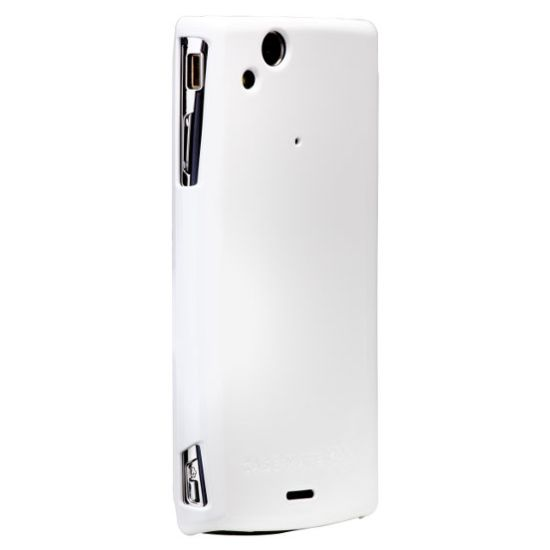 Case Mate pouzdro pro Sony Ericsson Xperia Arc Barely There Glossy White