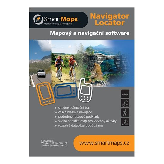 SmartMaps Navigator Basic CZ (Windows Mobile/Win CE)