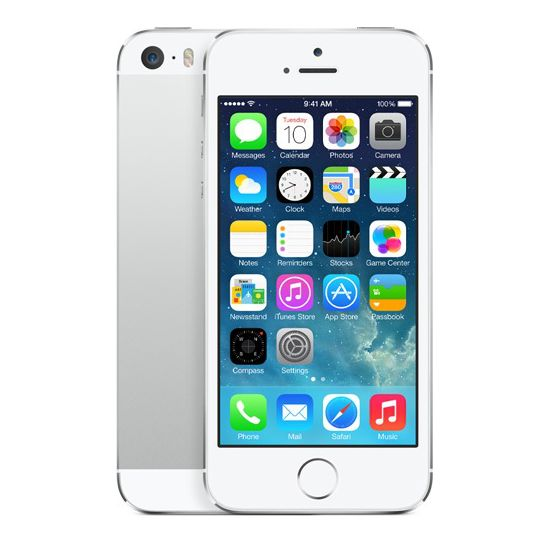 Apple iPhone 5S 64GB, stříbrný