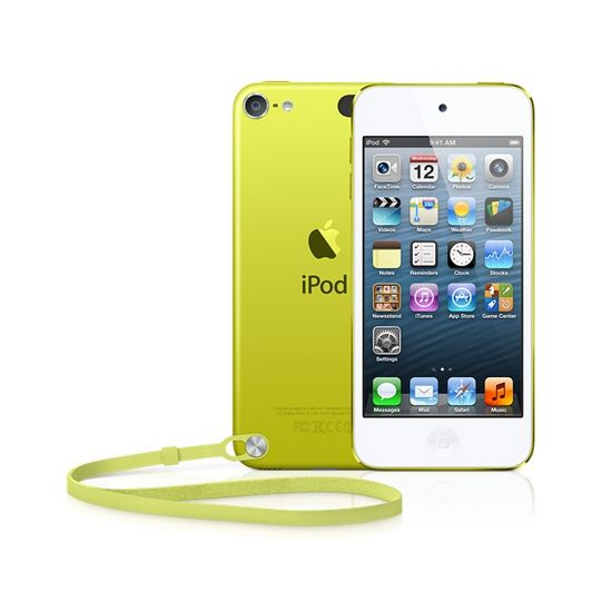 Apple iPod Touch 5th 64GB žlutá