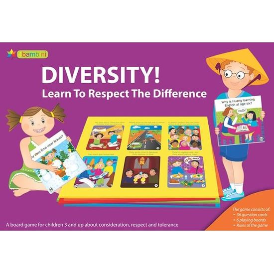 Hra Diversity! Learn To Respect The Difference (En)